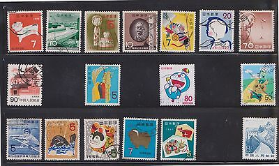 (U13-18) 1960-2010 Japan mix of 54stamps value to 80Y (C)