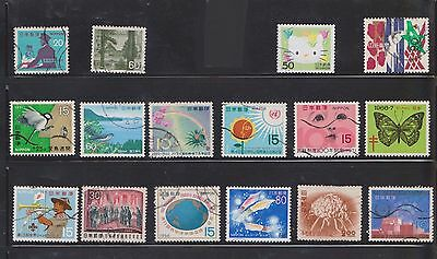 (U13-28) 1960-2011 Japan mix of 70stamps value to 80Y (M)