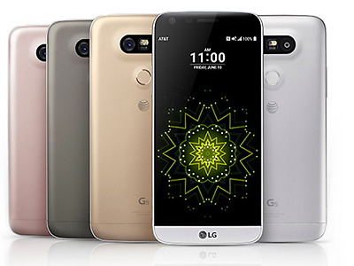 New LG G5 H820 TITAN GRAY PINK GOLD AT&T Unlocked GSM Android 4G LTE 32GB