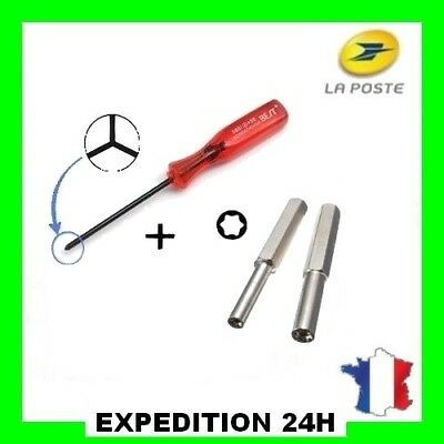 LOT 2 EMBOUTS GAMEBIT 3.8 & 4.5 mm + TOURNEVIS TRIWING TOP VENDEUR MEILLEUR PRIX