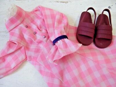 Vintage HARMONY Doll Dress - Original Dress Pants and Shoes