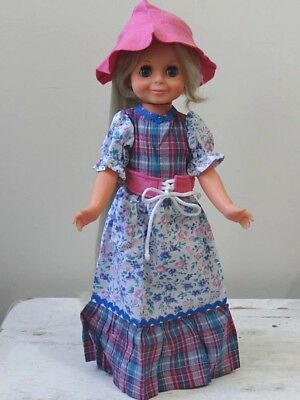 Brand New Pink Tartan Dess and Hat for Chrissy Crissy VELVET Dolls -  Cricket