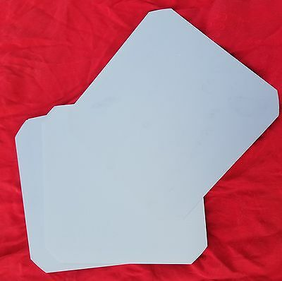 "45 raw, unetched unpolished Silicon Wafer Wafers 6"" square"