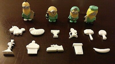 Operation Despicable Me Game Parts w/ Minions Tokens Complete 11/11 Parts Pieces