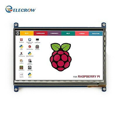 Elecrow HDMI Display Monitor 7 Inch 1024X600 HD TFT LCD wi... New, FREE Shipping