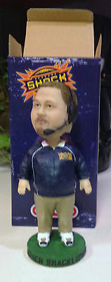 ADAM SHACKLEFORD SPOKANE SHOCK BOBBLEHEAD DOLL -Arena Football- SPOKANE EMPIRE
