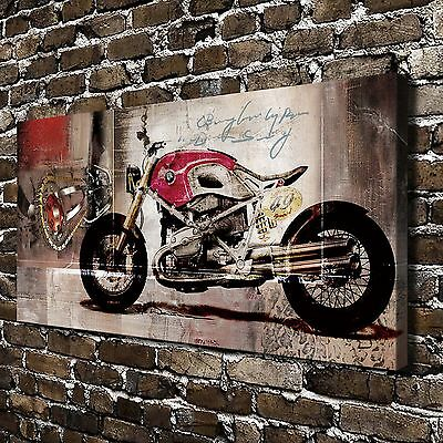 HD Canvas Print Paintings BMW Motorcycle Home Decor Wall Art Pictures Posters