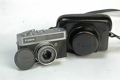 Canon Canonet Junior Se 40Mm 1 :2.8 Len  With Matcing Leather Case