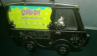 Scooby Doo Mystery Machine Pewter Photo Frame New Connoisseur Cartoon Network