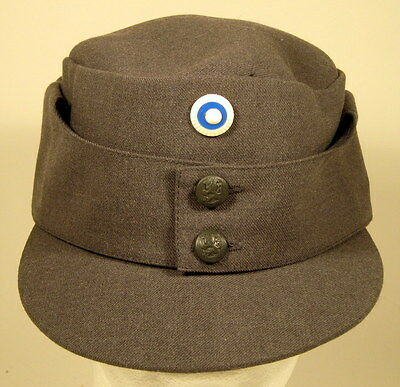 Finnish Finland Army M/65 Field Utility Dress Hat Cap W/ Enlisted Cockade Pip