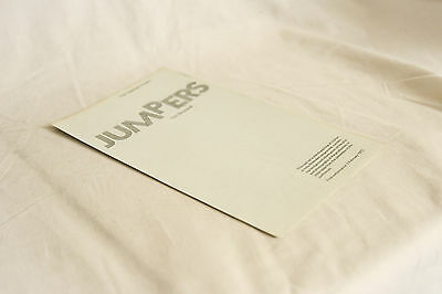 Vintage 1970s Theatre Programme JUMPERS Tom Stoppard, Diana Rigg
