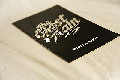 Vintage 1970s Vaudeville Theatre Programme THE GHOST TRAIN, Wilfred Brambell
