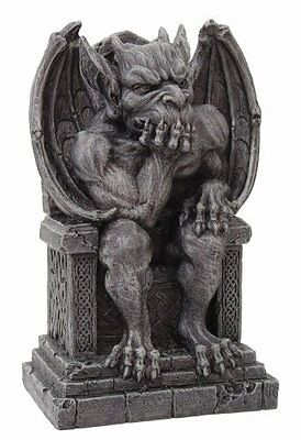 The Thinker Medieval Gargoyle Statue Thinking Pacific New