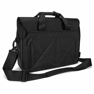 "Targus 15.6"" Laptop Shoulder Messenger Carry Case Bag Black"