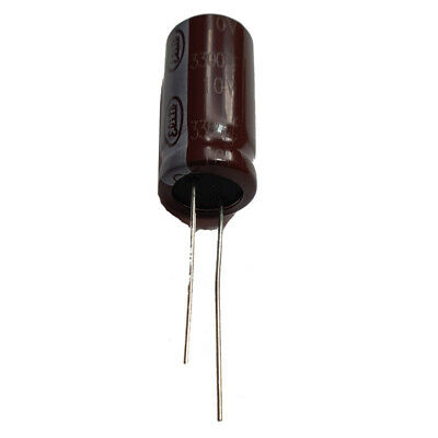 3300uF 10V Ultra Low ESR Electrolytic Capacitors 105'C, Pack of  2,5 or 10