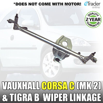 Vauxhall Corsa C Wiper Linkage Front O.E Ref 93196316 New Quality All Models
