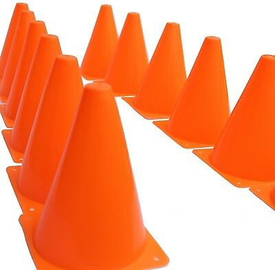 Safety and Security Cones Outdoor Games Sports Plastic Traffic Orange Cones Set