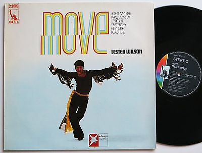 Lester Wilson Move Orig Liberty / Stern Musik 60S Soul Lp Vg++/mint-