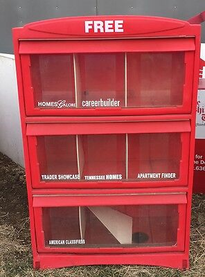 Sidewalk Library Stand-Plenty Of Storage-Weather Proof-Plastic