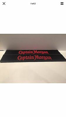 NEW! Captain Morgan Bar Mats Spill Man Cave Party Rum