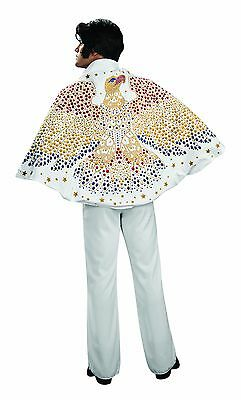 Officially Licensed ELVIS PRESLEY Costume Cape Mens Womens Adult One-Size NEW