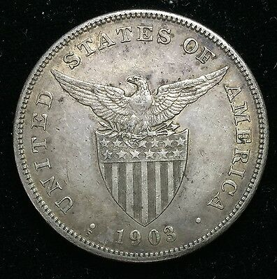 1903s Peso US-Philippines  Silver Coin - lot#11