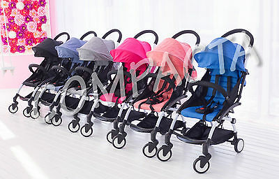 Compacta Baby Stroller Ultra Light Travel Pram like Babyzen Umbrella