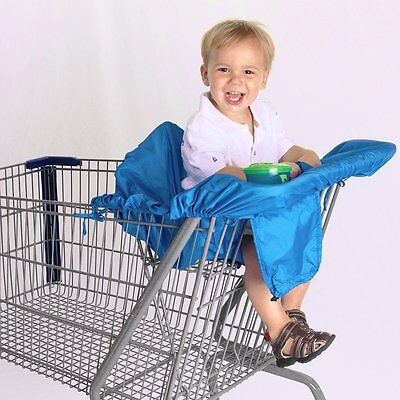 Cossettie Compact Shopping Cart & High Chair Cover