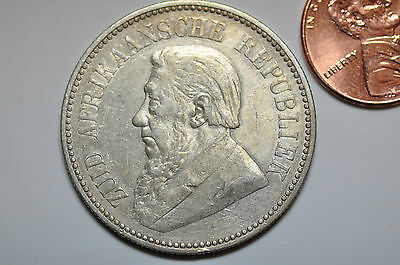 mw8361 South Africa; Silver 2 1/2 Shilling 1896  KM#7