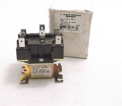 White-Rodgers 90-340 / 91-901 Switching Relay - 24V Coil - DPDT - PPD Shipping