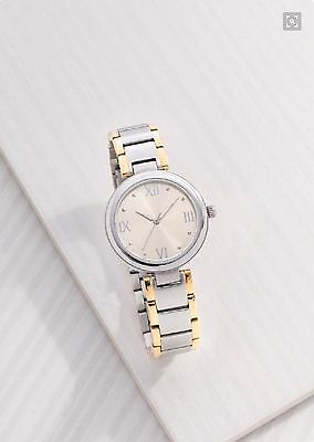 New Silpada Time To Celebrate Watch T3202 Stainless Steel Adjustable