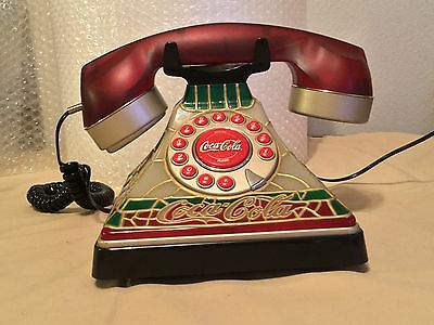 2001 Coca-Cola stain glass look phone
