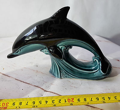 Vintage Poole Pottery Large  Leaping Dolphin