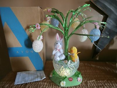 Avon Fiber Optic Musical Easter Blossoming Tree Decoration With Box