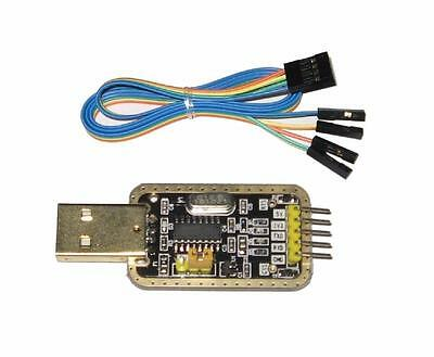 RS232 TO USB SERIAL CONSOLE ADAPTER | TTL UART CH340G | ARDUINO, RASPBERRY Pi