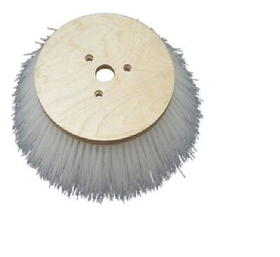 "8-08-03211 13"" 3 Single Row Nylon Side Brush for American Lincoln Sweepers"