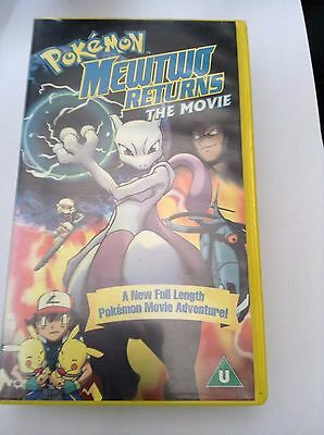 Pokemon: Mewtwo's Return (VHS, 2002)