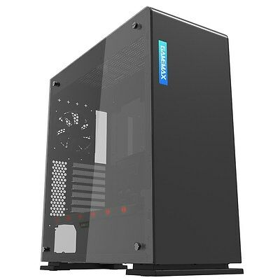 Game Max Vega Black Midi Tower Gaming Case - USB 3.0