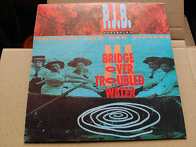 7'' Promo P.j.b. Feat. Hannah And Her Sisters-Bridge Over Troubled Water - Spain