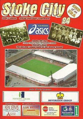 * 1997 - STOKE CITY v WEST BROM - LAST EVER GAME AT VICTORIA GROUND *