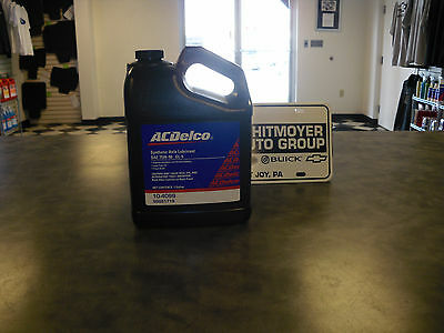 1 Gallon AC Delco SAE GL-5 75W-90 Synthetic Axle Lubricant 10-4099 GM# 88861719