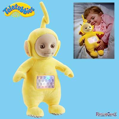 Teletubbies Lullaby Laa-Laa Yellow Plush Soft Cuddly Toy with Music & Light