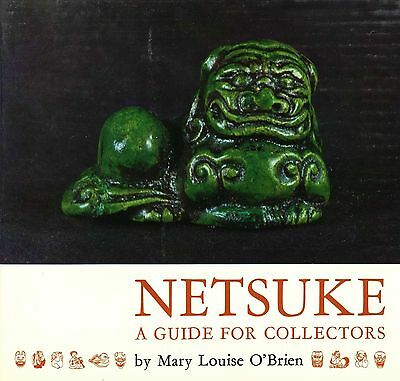 Collecting Antique Japanese Netsuke incl. Types Makers Marks / Scarce Book