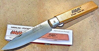 MAM Portugal knife 3-A-B linerlock folder like Opinel for camp picnic pocket etc