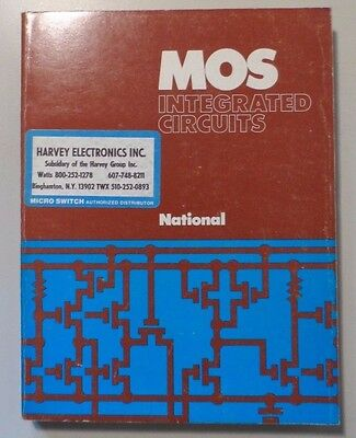 1974 National Semiconductor MOS Integrated Circuits Book