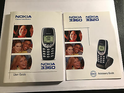 Nokia 3360 User Guide, Accessory Guide, Quick Guide, and Color Covers