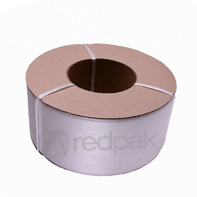 Poly (PP) Machine Strapping 12mm (width) x 3000m (length) Clear  #11101C