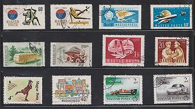 (U19-25) 1950-60 Hungary mix of 27stamps value to 120ft (D)