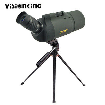 Multi-Coated Visionking 25-75x70 MAK Zoom Spotting Scope Bak4+Tripod Case