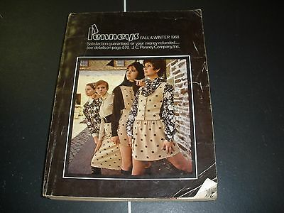 1968 Penneys Fall Winter vintage Department Store catalog like Sears Catalog